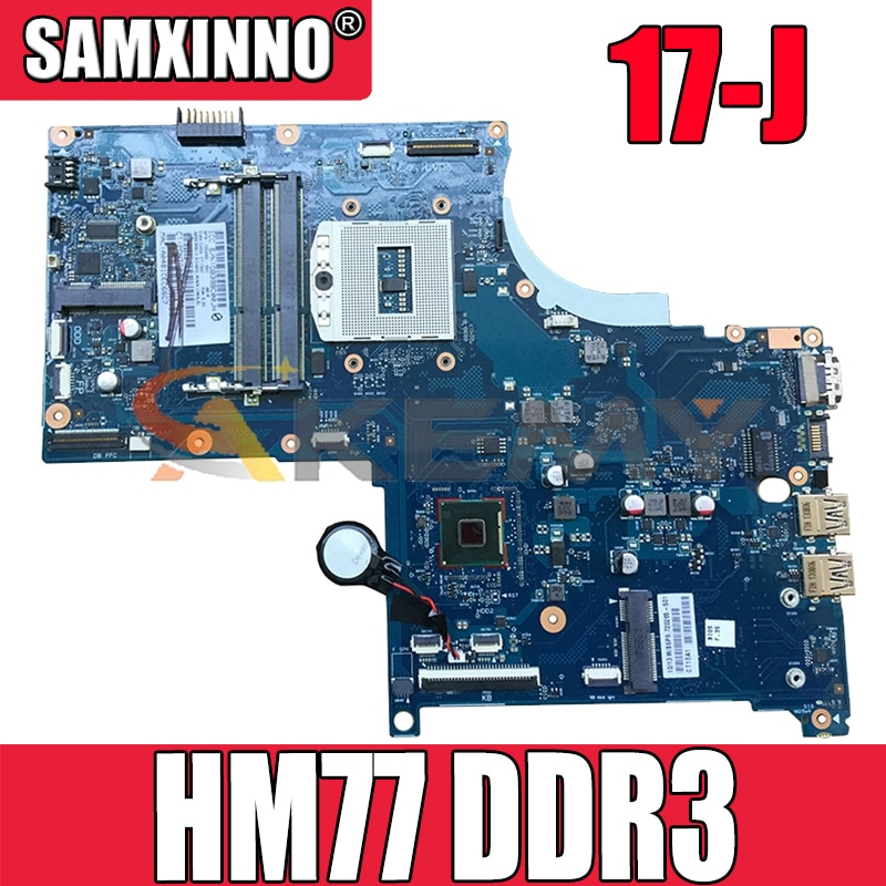جودة عالية ل HP 17-J M7-J سلسلة اللوحة المحمول 720268-501 720268-001 HM77 DDR3 اللوحة الرئيسية 100% اختبار سريع السفينة
