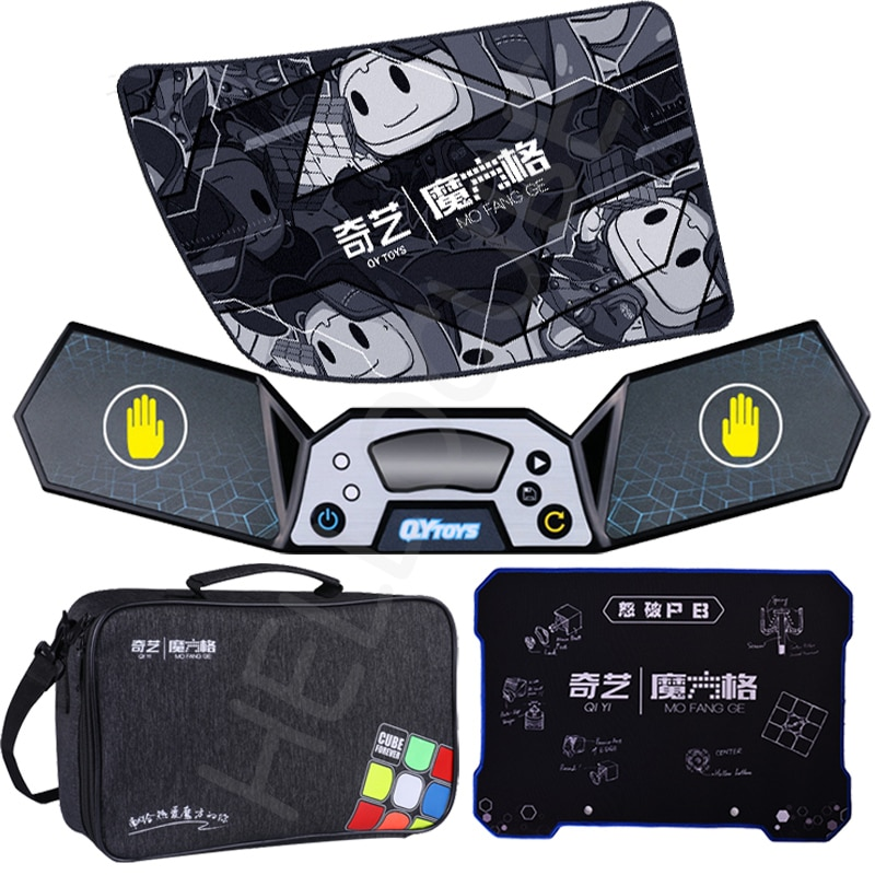 QiYi Speeding timer Competition timer training player one mat bag Puzzle magic cube Magico Cubo WCA