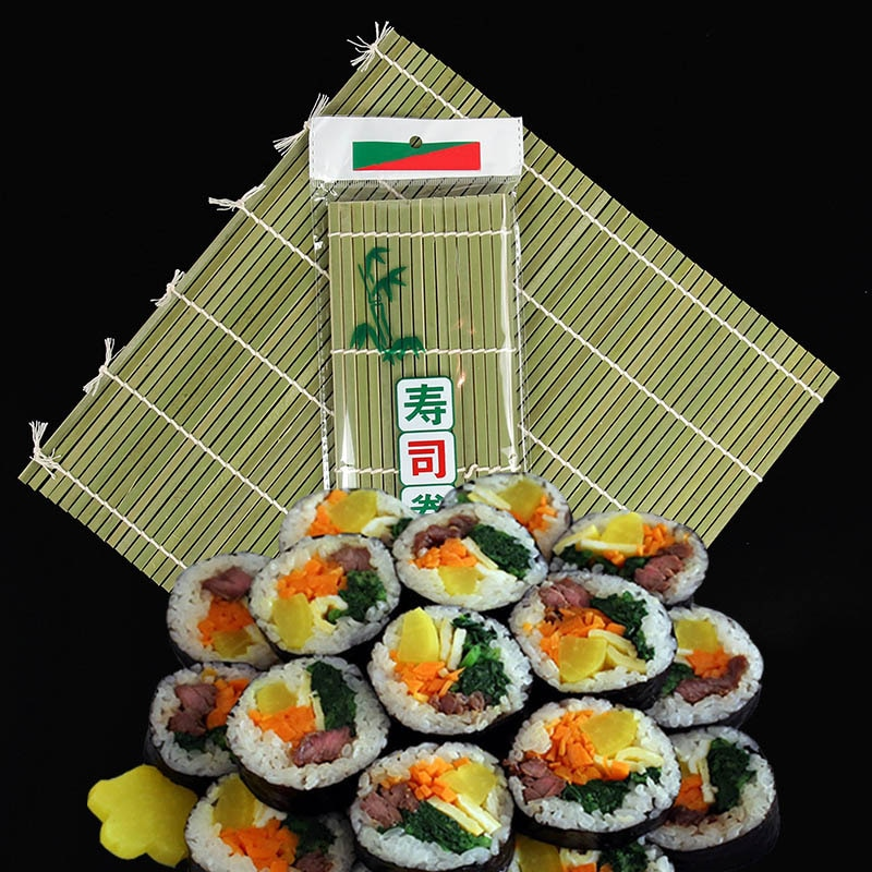 AliExpress - Sushi Curtain Cooking Accessories Sushi Rolling Roller Hand Maker Sushi Tools Onigiri Rice Rollers Bamboo Non-stick