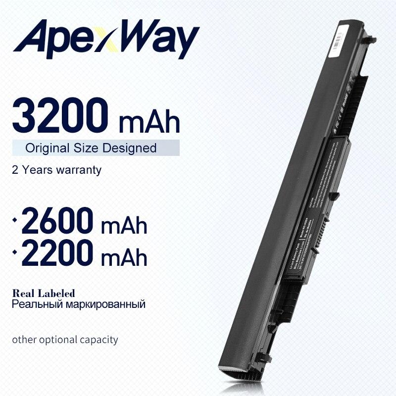 ApexWay HS03 HS04 batería para HP 240, 245, 250, 255 G4 Pavilion 15-ac0XX 14-ac0XX HSTNN-LB6V STNN-LB6U