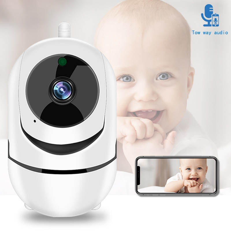 ZK22 WiFi Baby Video Monitor Cloud Storage Mobile Phone Remote Control Baby Monitor Audio Baby Crying Alarm Security Camera