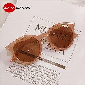 Маленькие круглые солнцезащитные очки UVLAIK, женские брендовые дизайнерские Винтажные Солнцезащитные очки 2020, женские очки с защитой от ульт...