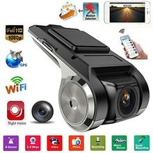 USB WIFI Скрытая Мини DVR камера регистратор видеорегистратор 1080P ADAS ночное видение цифровой видеорегистратор для Android Автомобильная Навигация
