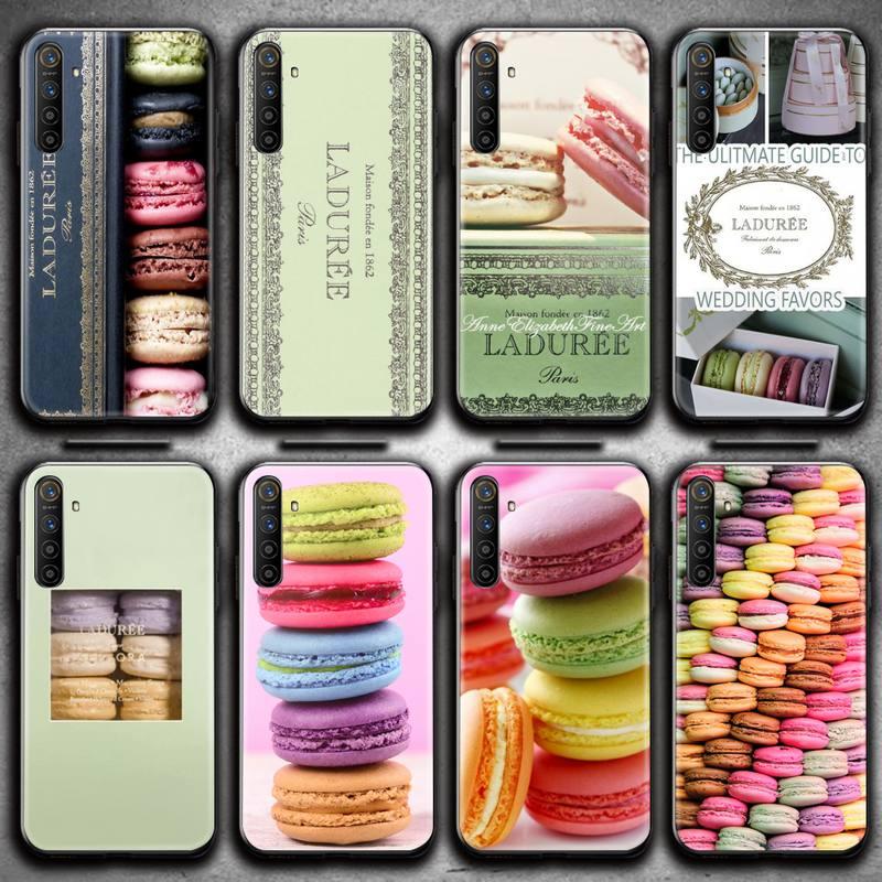 Macaron Dessert Laduree Telefon Fall Für OPPO Realme 6 Pro C3 5 Pro C2 RENO2-Z A11X XT