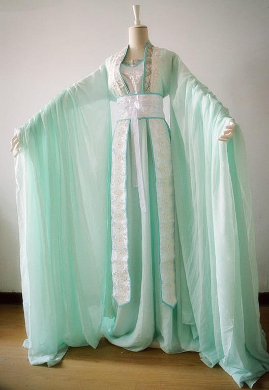 Dieu céleste bénit le peuple Shi Qingxuan Cosplay Tian Guan Ci Fu Cosplay Costume chinois anciens Costumes Hanfu femmes filles