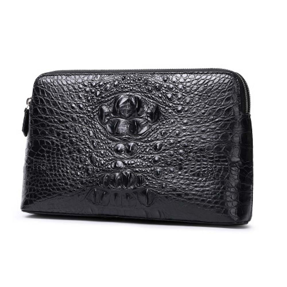 xingmengda male  Hand bagnew  crocodile leather  large capacity  business  Combination lock  male  Hand caught men clutch bag