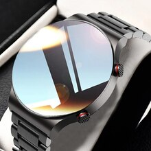 2021 New Luxury Men's Smart watch Sports watch Full screen touch Bluetooth call Heart rate monitorin