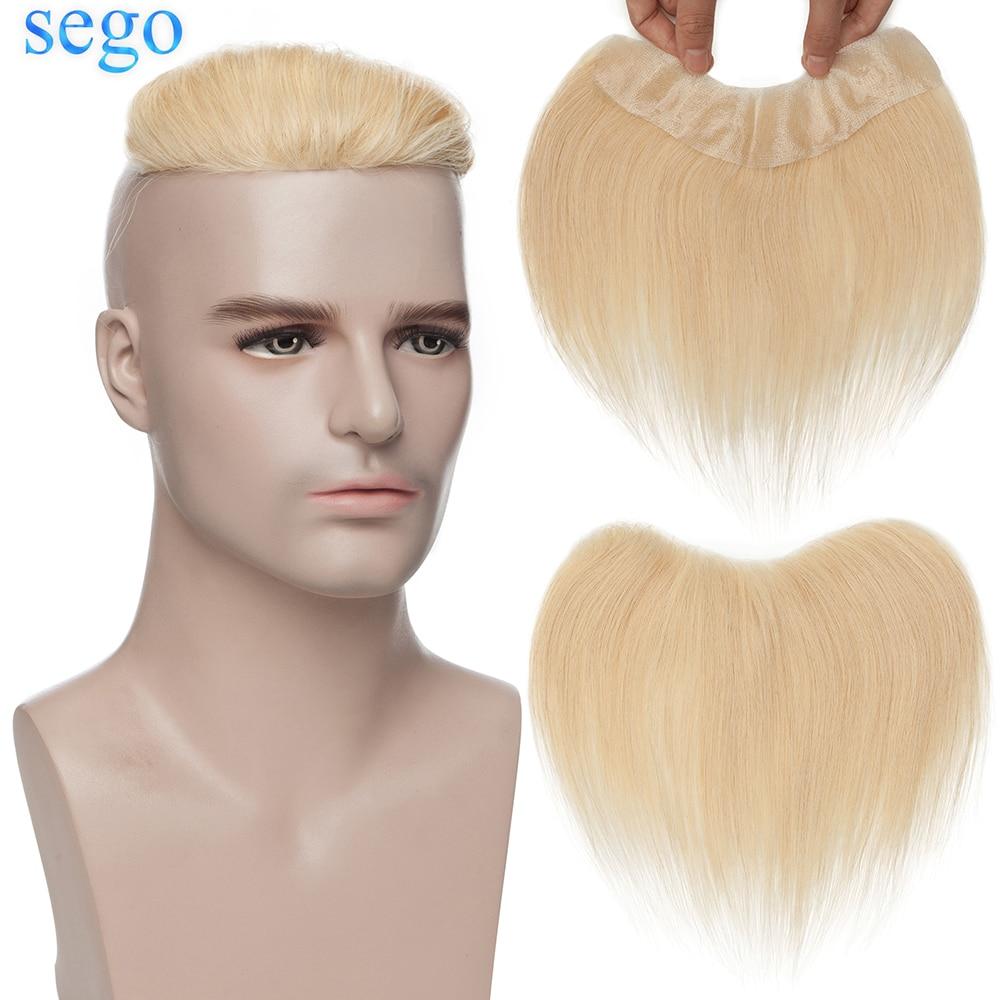 سيجو شعر ريمي 4x18 سنتيمتر 100% شعر مستعار الإنسان الخامس حلقة الجبهة شعري للرجال هيربيسي شعر مستعار للوجه الرفيع PU استبدال