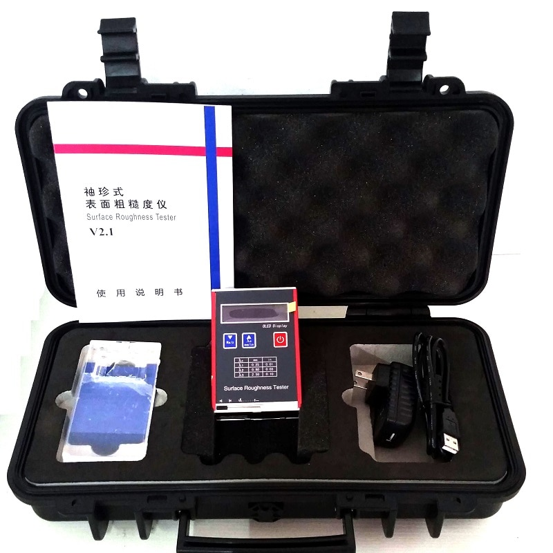 SYT320  digital surface roughness tester  Roughness Tester Price Roughness measuring instrument enlarge
