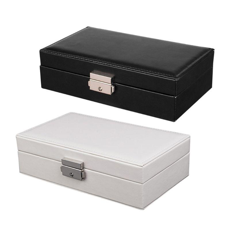 Шкатулка-для-ювелирных-изделий-Женская-кожаный-Органайзер-для-хранения-и-демонстрации-ювелирных-изделий