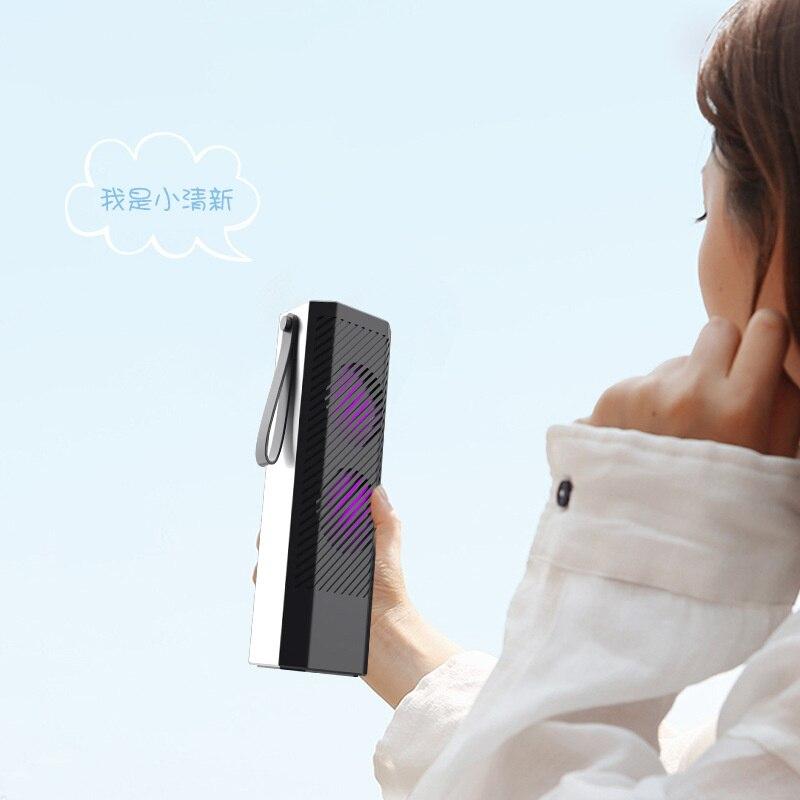 Портативный автомобильный очиститель воздуха, USB автомобильный очиститель воздуха UVC, Ультрафиолетовый очиститель