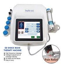 Instrument de physiothérapie par ondes de choc extracorporelles treillis électromagnétique Machine de thérapie par ondes de choc balistique Massage corporel