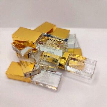 80 pcs/lot Crystal Metal Flash drive USB3.0 High-speed Memory Stick