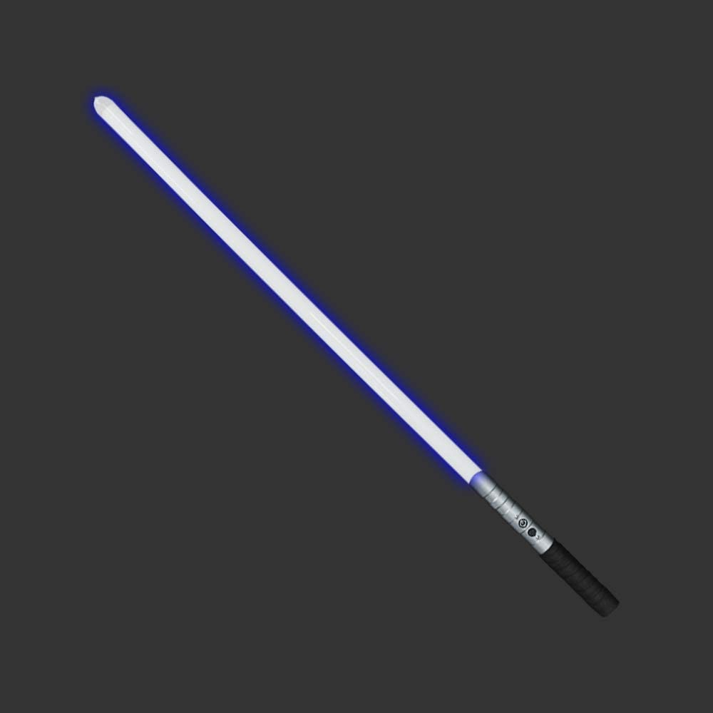YDDLightsaber Black Series RGB 16 Colors Metal Aluminum Hilt with 3 Realistic Blaster Sound Mode and Flashes Heavy Dueling enlarge