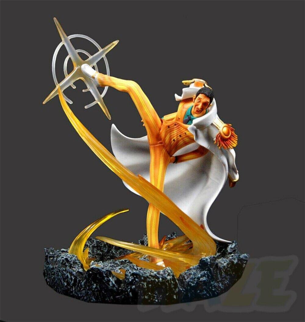 Figura coleccionable de una pieza, figura de Borsalino de Kizaru, colección de Anime de una pieza, juguete en caja de 30cm