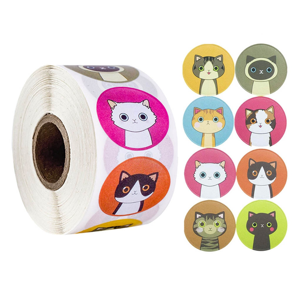 100-500pcs-roll-lovely-cat-adesivi-per-la-scuola-ricompensa-adesivi-aula-decorazione-incoraggiamento-adesivo-per-studente-insegnante