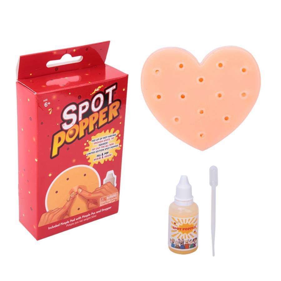Stress Relief Spielzeug Squeeze Akne Spielzeug Pfirsich Popping Popper Entferner Stop Picking Ihre Gesicht Pickel Picking Ihre Gesicht TPE Spielzeug