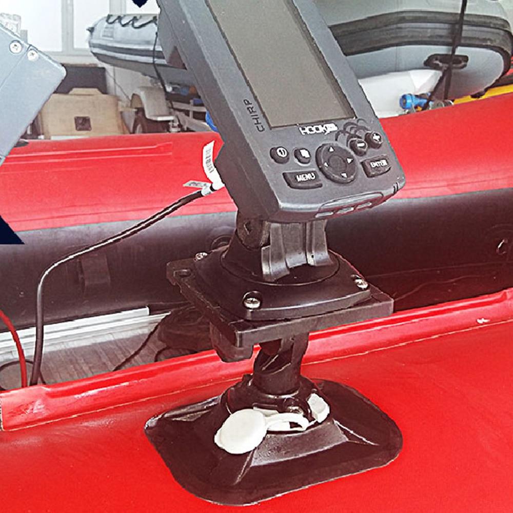 Universal Swivel Kayak Marine Boat Yatch GPS Electronics Fish Finder Mount Bracket Inflatable Boat Fish Finder Bracket