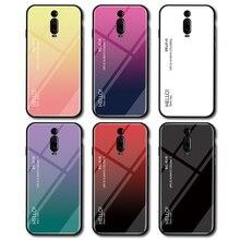 Coque de téléphone pour mi A3 A2 Lite A1 CC9 mi x 2 2S Max 3 étui en verre trempé pour Xiao mi mi 9T Pro 9 SE 8 Lite 6 F1 Play Back Cover