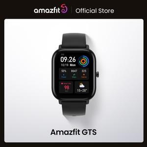 Amazfit GTS Stock Global Version Smart Watch 5ATM Waterproof Swimming Smartwatch 14DaysBattery