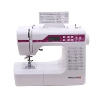1pc household multi function sewing machine with different 200 stitches can embroidery letters lcd screen sewing tools