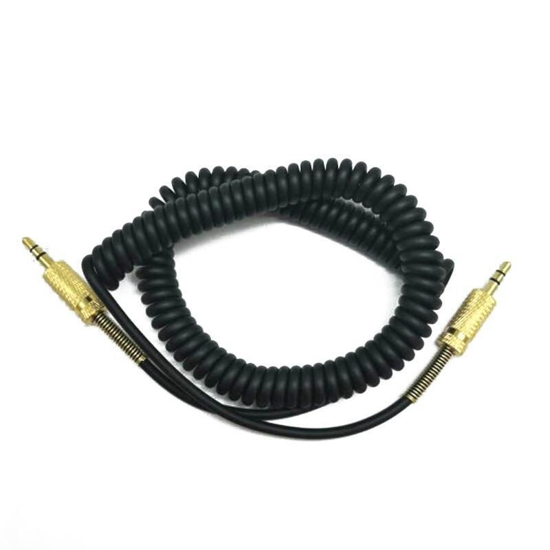 Cable de repuesto de 3,5mm para Marshall Woburn Kilburn II, toma de corriente macho a macho Y1AE