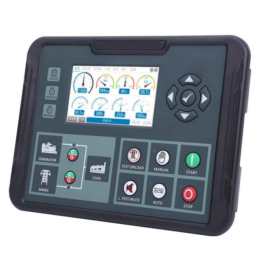 المولد تحكم مجموعة LCD التلقائي وحدة تحكم بالمولد وحدة DC82D MKII AC80-360V 5-2000KW اللوازم الصناعية