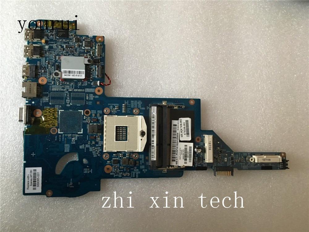 Yourui 669085-001 669085-501 48.4QC05.011 اللوحة الرئيسية ل HP بافيليون DM4 DM4-3000 اللوحة الأم للكمبيوتر المحمول DDR3