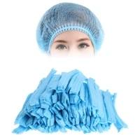 100 pcs microblading disposable sterile cap hair net for eyebrow tattooing disposable sterile cap accesories makeup hat makeup