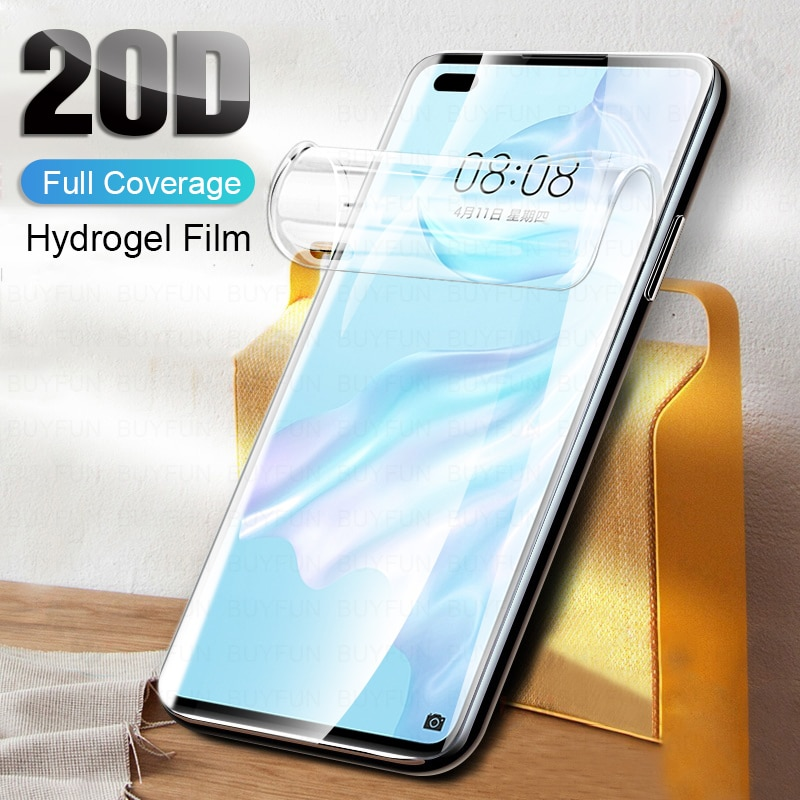 Hydrogel Soft Film For Huawei P40 Lite E P10 P20 P30 Pro Screen Protector For Huawei Mate 20 Pro Lit