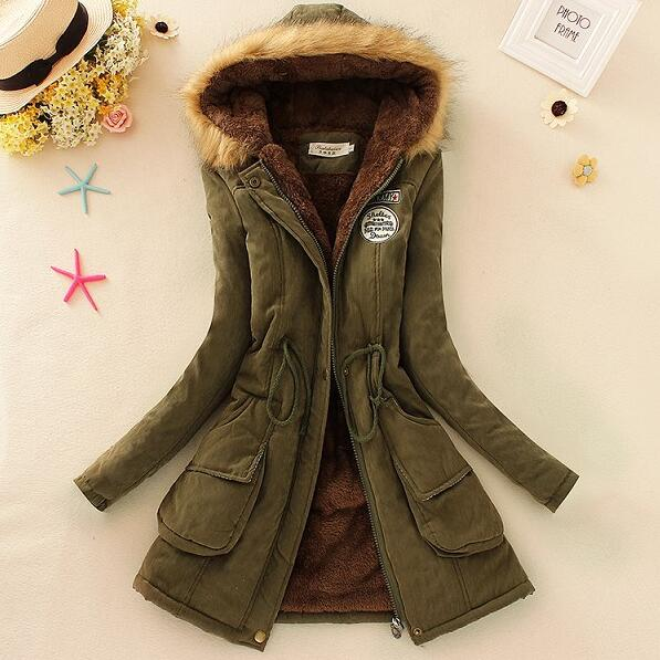 2017 Cheap wholesale Spring new Hot selling women Warm hooded Fashion Casual S-XXXL 8 colors Artificial lambs wool Coat