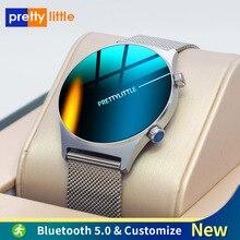 E-13-reloj inteligente deportivo para hombre, pulsera con esfera personalizada, pantalla completamente táctil, resistente al agua IP68, para Android e IOS, 2021