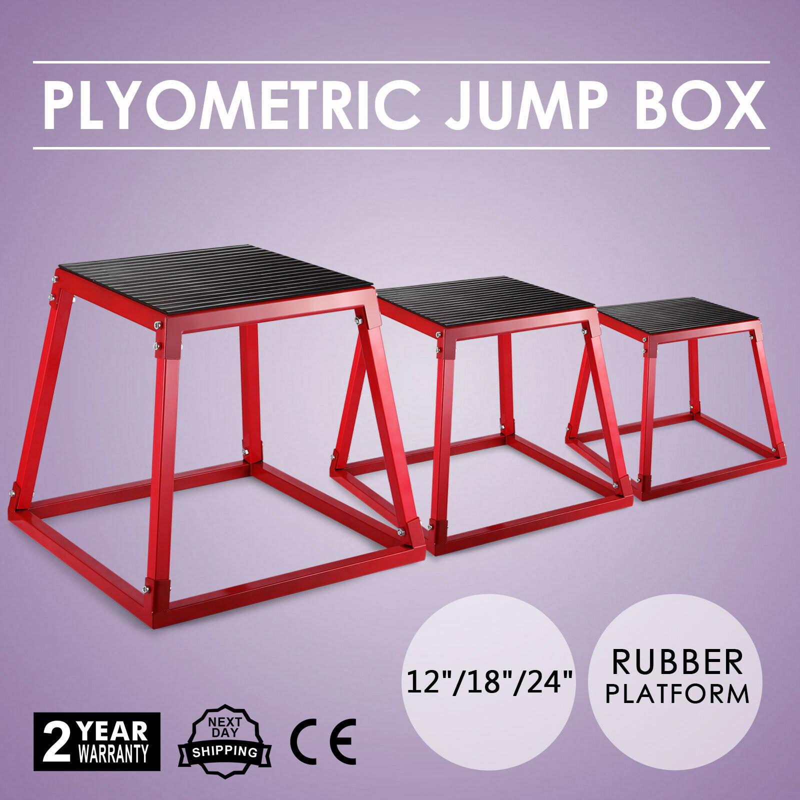 VEVOR, cajas plyométricas de 12 pulgadas, 18 pulgadas, 24 pulgadas, plataforma plyométrica, caja salto, ejercicio