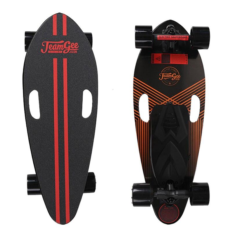 Patinete eléctrico H3-B para adultos, 4 ruedas, Scooters eléctricos, Motor 350 W, patinete eléctrico Longboard remoto