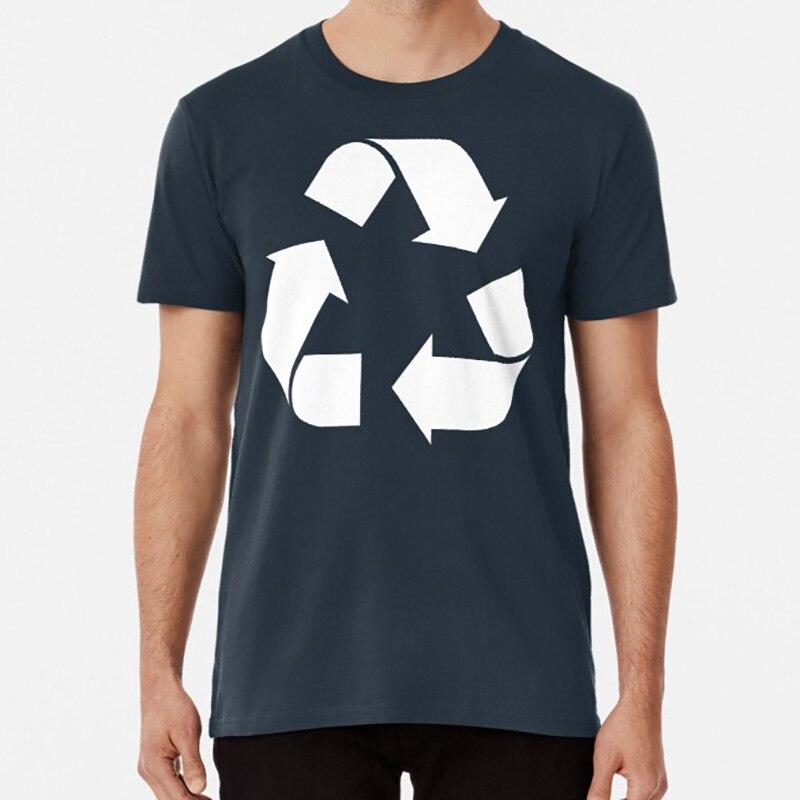 Reciclar t camisa reciclar o símbolo do logotipo de reciclagem ambiente verde leonard hofstadter