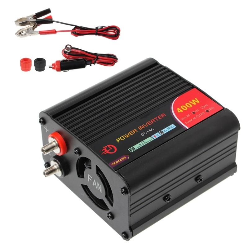 400 Вт Инвертор постоянного тока 12 В до 220 В переменного тока автомобильный инвертор с usb-портом для зарядки новый M2ED