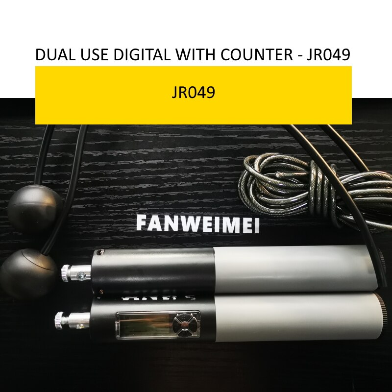 robust high end good quality jump rope with counter digital pvc rope loss weight home gym fitness pr