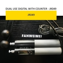 robust high end good quality jump rope with counter digital  pvc rope loss weight home gym fitness p
