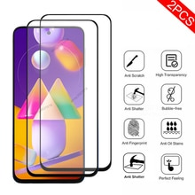 2PCS  Protective Glass For Samsung Galaxy M31S Screen Protector For Samsung M31 M31S M30 M30S Safety