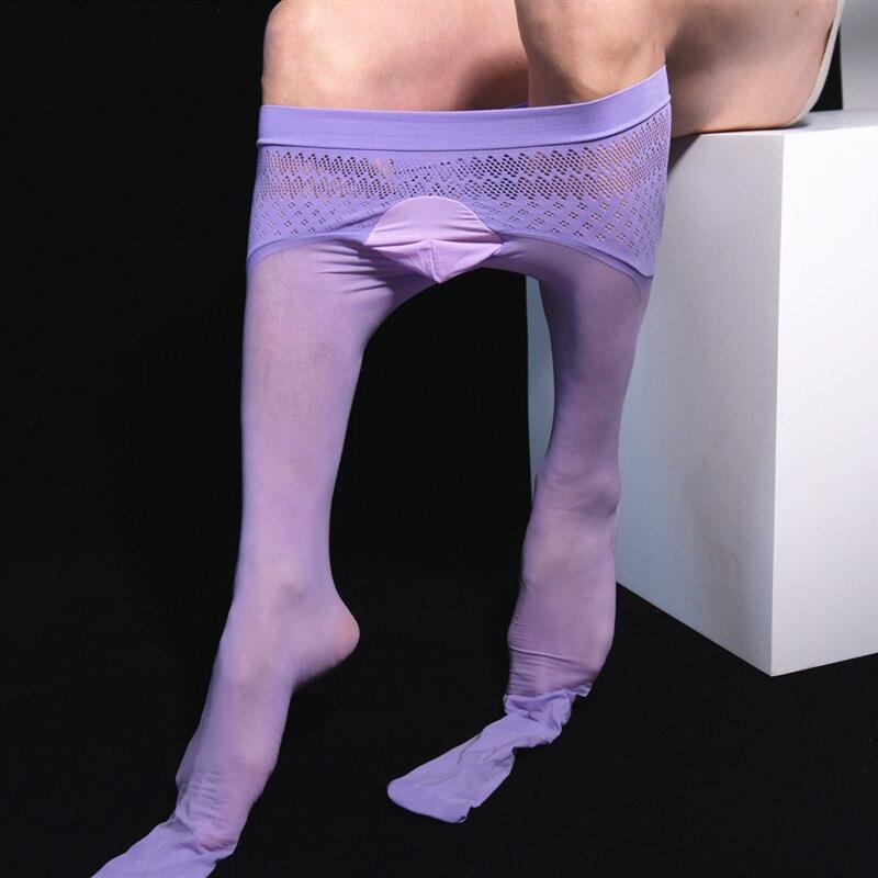 10d Ultra-Thin máscara sedosa sin costuras 360 medias cadera verano mate pantimedias Durable hilo Sexy piña calcetines para Apple