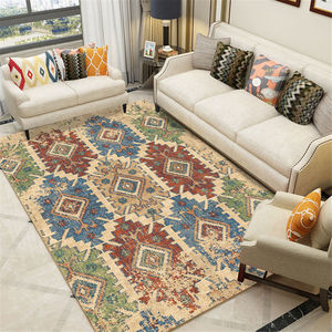 Estilo europeu marrocos tapetes para sala de estar moderna estilo étnico tapete bedrooom lavável corredor casa essentials