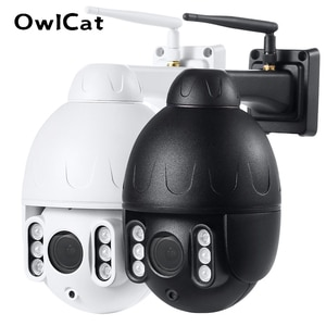 Outdoor Rotary 5x Optical Zoom Wi-Fi Metal Video IP Camera Dome PTZ CCTV With Two Way Audio Talk SD Card Memory Motion Phone APP
