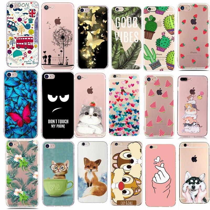 Für Fundas iphone 5 S 5 S SE Fall Abdeckung Apple iphone 6 6S 7 8 Plus X XS nette Minnie Silikon Telefon Abdeckung Fall Für iphone 7 capas