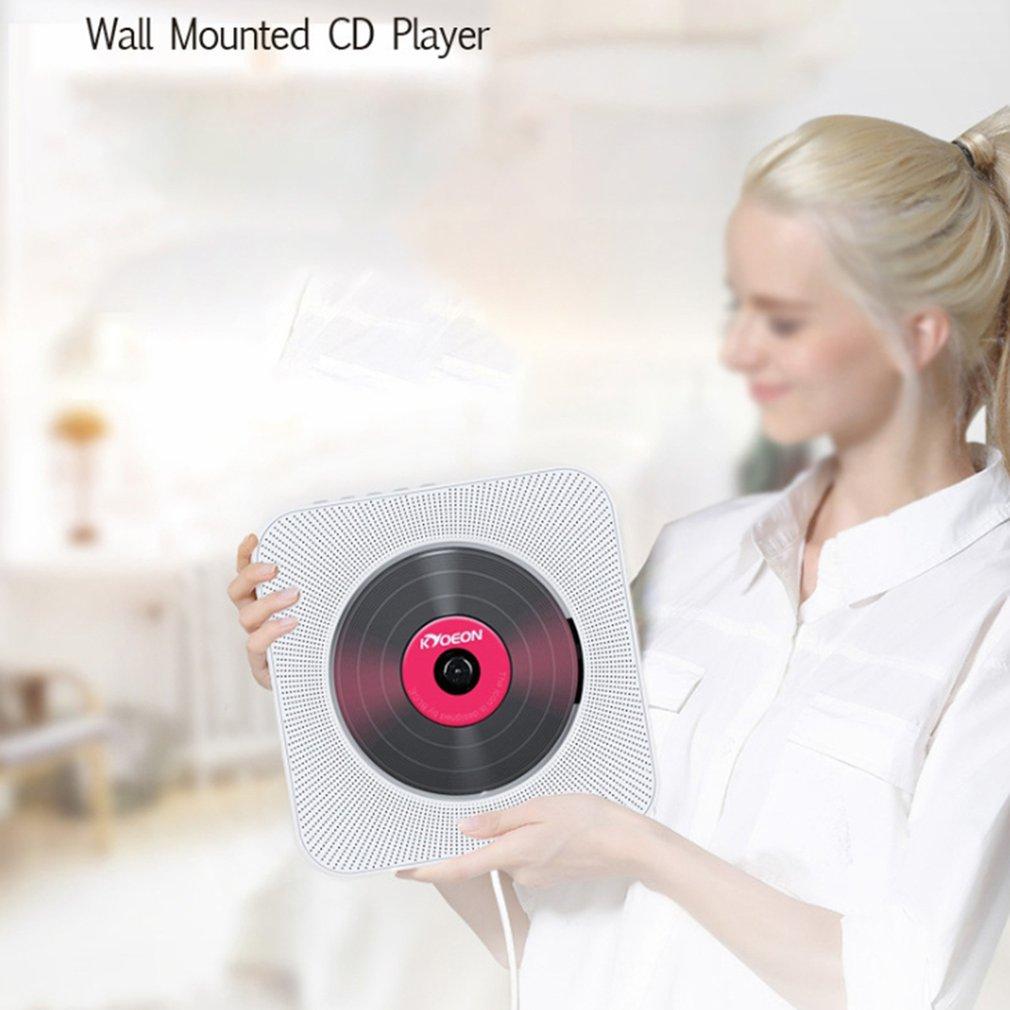 Repetidor reproductor de Cd montado en la pared altavoz portátil sonido Dvd inglés máquina de educación Prenatal reproductor de Cd