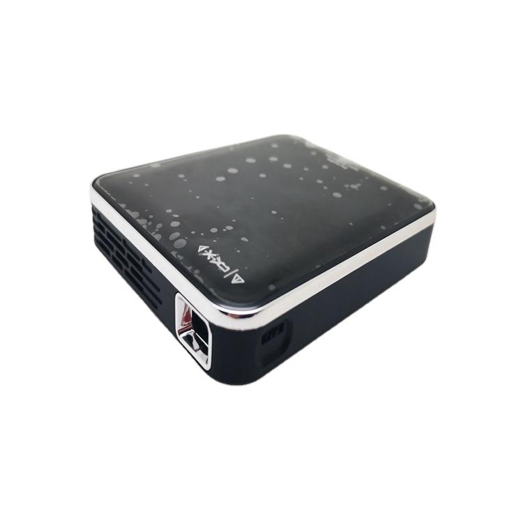 جهاز عرض Led صغير يعمل بضوء الليزر بدقة 4K بشاشة للهاتف المحمول ستار Dlp ذكية مع نظام تشغيل أندرويد منزلي محمول فائق الدقة ومزود بفيديو قصير 1 جها...