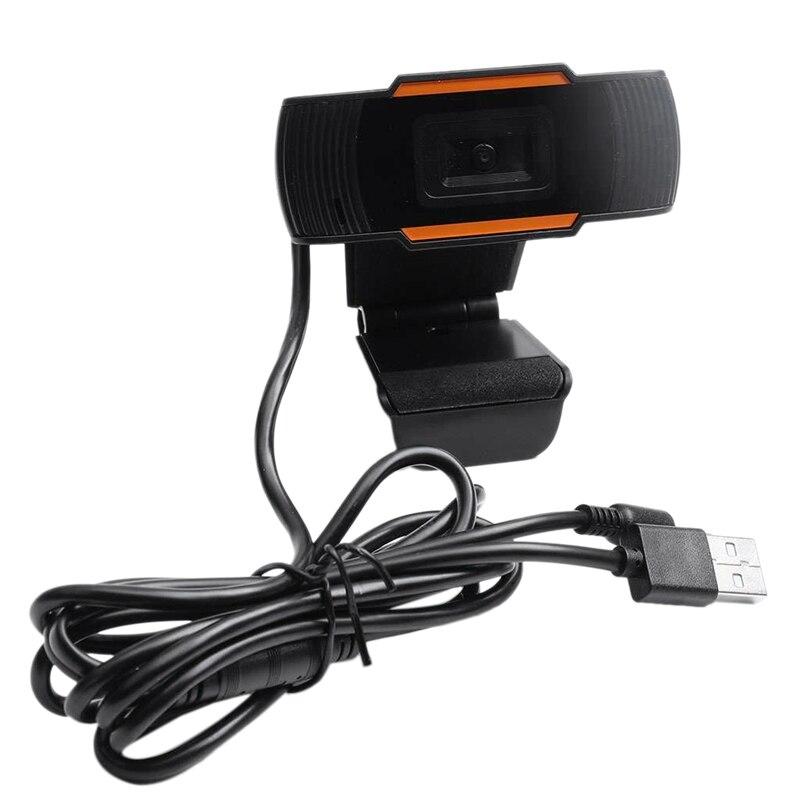 MOOL USB 2,0 PC Cámara grabación de vídeo HD Webcam MIC para computadora para PC Laptop Skype MSN
