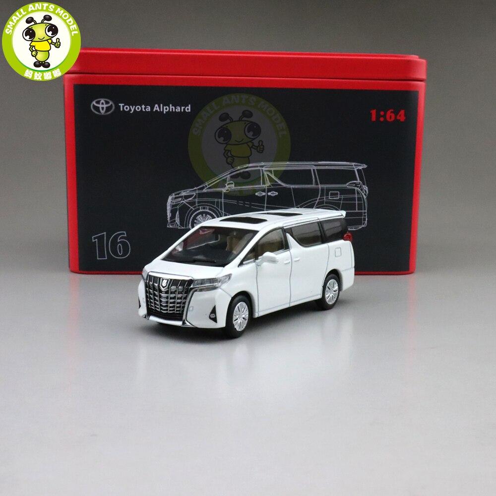 1/64 alphard mpv gcd modelo diecast brinquedos carro meninos meninas presentes