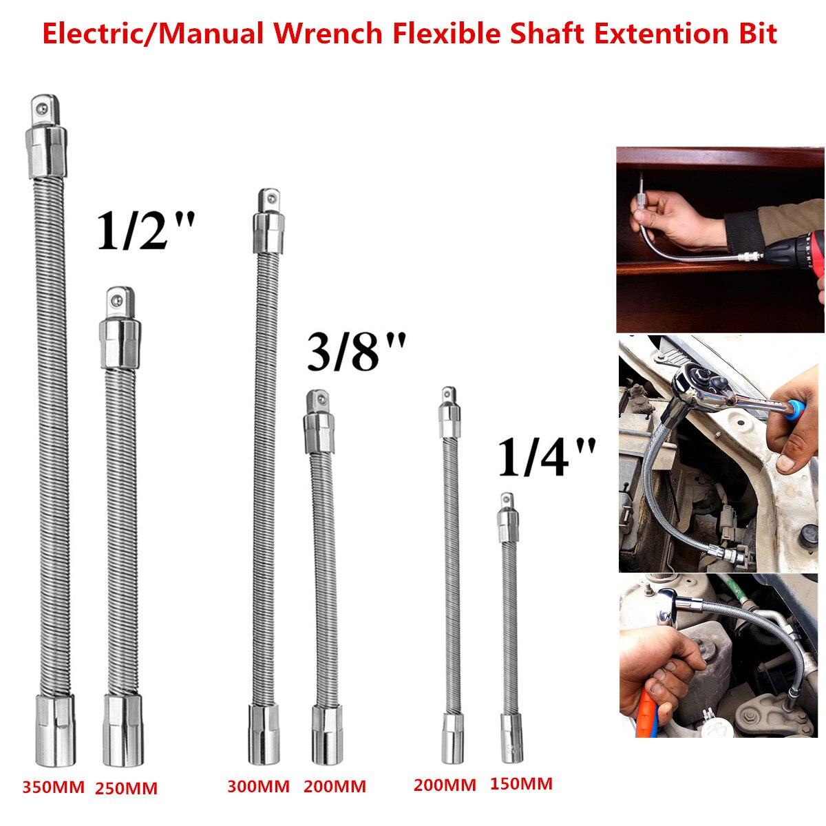 1pc Hex Schaft Flexible Erweiterung Bar Adapter Ratsche Stick Flexible Erweiterung Bar Adapter Steckschlüssel Hand Werkzeug