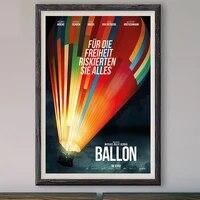 M027     affiche en soie personnalisee avec Ballon  film classique  decoration murale  cadeau de noel  2018