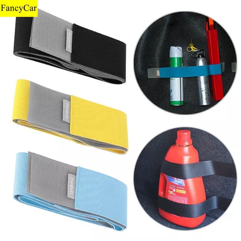 Автомобильный органайзер для хранения багажника, нейлоновая лента для фиксации ремня, клейкая лента, крепежный бандаж, кронштейн, наклейка ...